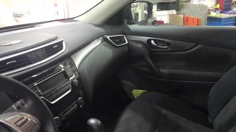Nissan X-Trail повышение комфорта в салоне авто при помощи дополнительной вибро-шумоизоляции