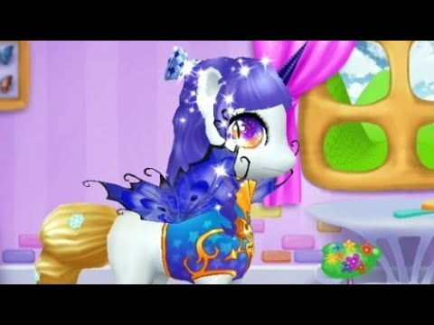 ПОНИ ПРИМЕРЯЕТ НАРЯДЫ.Pony tries on outfits