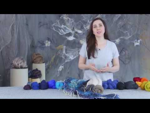 Диана Нагорная. Анонс видеокурса « Прикладное цветоведение». Арт- шарф