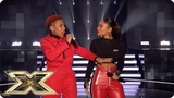 Acacia &amp Aaliyah sing Blinded By Your Grace I Win Live Shows Week 6 The X Factor UK 2018