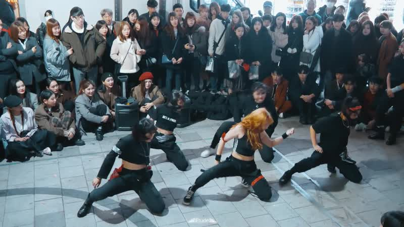 A.YOUTH ¦ Welcome to the Party ¦ Luna Hyun Choreography ¦ 에일리언 버스킹 ALiEN BUSKING Filmed by lEtudel