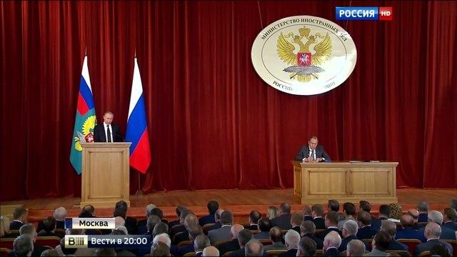 Вести 20 00 • Дипломатический фронт президент ставит задачи по направлениям внешней политики