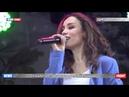Виктория Дайнеко и группа «Корни» дали концерт в донецком парке имени Щербакова