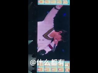 Taehyung, his mullet Bangtan presenting the MC for tonight xD@BTS_twt 방탄소년단 防弾少年団 4THM