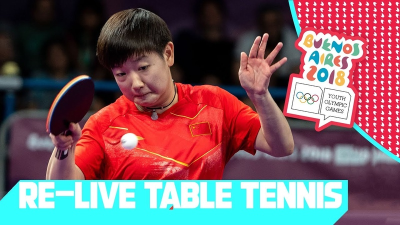 RE-LIVE | Day 04: Table Tennis | Youth Olympic Games 2018 | Buenos Aires