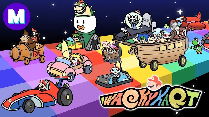 WACKY KART: Mario Kart vs Wacky Races