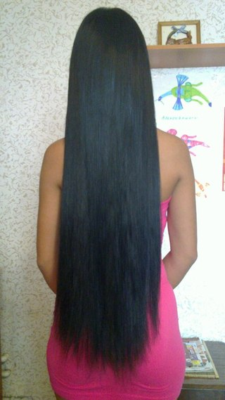 Длина волос 80 см фото