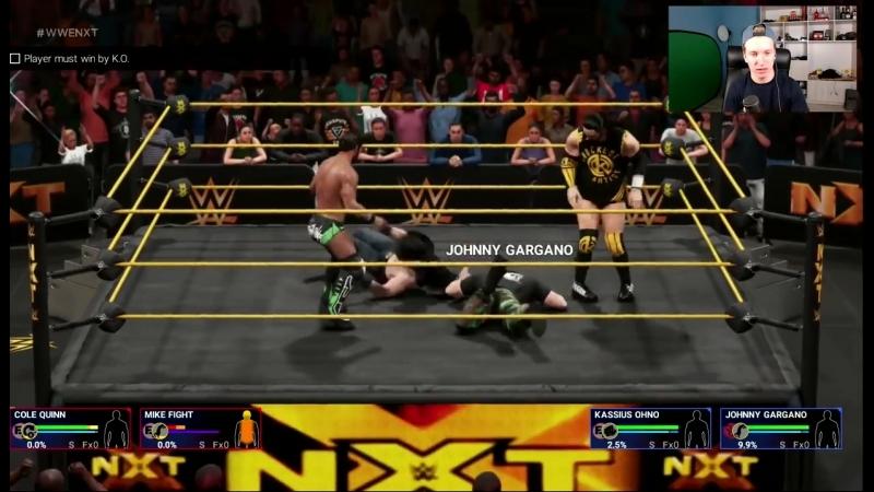 [Легендарный Киллер] WWE 2K19 Прохождение Карьеры МАЙКА ФАЙТА - ВТОРЖЕНИЕ В NXT (ч.3)