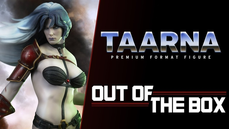 Taarna Premium Format™ Figure – Exclusive Edition – Out of the Box