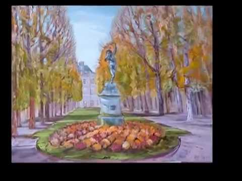 Liudmila Bolotskaya Людмила Болотская Art shopping 2014 Paris Carrousel du Louvre