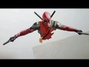 3D Colored Pencil Drawing of Deadpool Speed Draw by Jasmina Susak