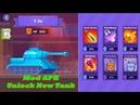Tank Stars Mod Apk Unlock T 34 Tank and upgrade MAX level