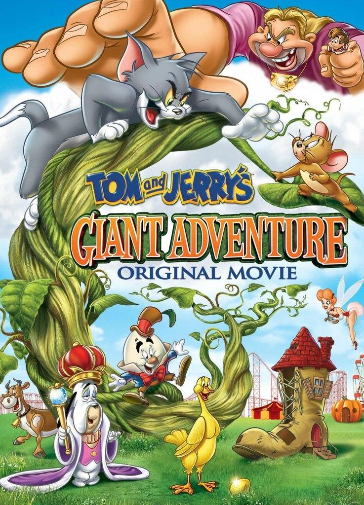 Descarga Tom and Jerry's Giant Adventure 2013 BdRip Latino MG
