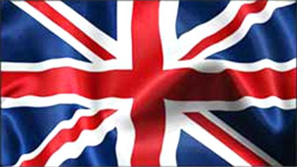 трусы с британским флагом