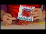 Видео мастер-класс: Плетение фенечков на шаблоне