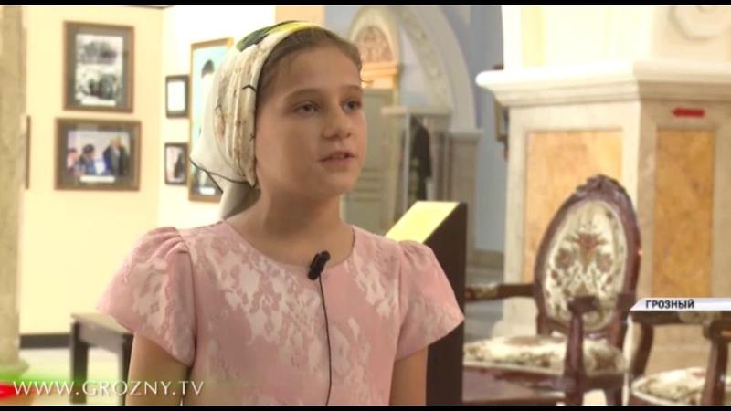 Школьники из Шали посетили с экскурсией Грозный