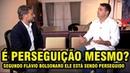 FLÁVIO BOLSONARO DIZ QUE A MIDIA ESTÁ PERSEGUINDO ELE SERÁ MESMO