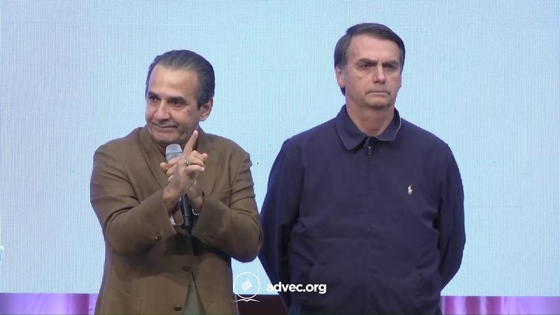 Pastor Silas Malafaia Vídeo resumido da declaração profética em favor do Brasil e de Bolsonaro