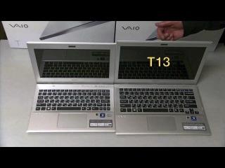 Видео обзор ноутбуков Sony VAIO SVT (T11/T13)