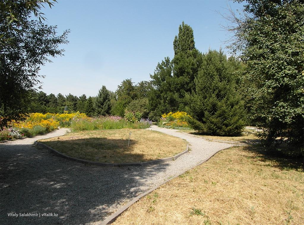 Щебёнка в Ботаническом саду Алматы