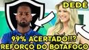 BOTAFOGO ACERTA COM DEDÉ DO CRUZEIRO!!? PARA 2019 | MERCADO DA BOLA