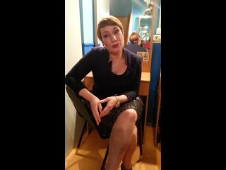 Ольга Тумайкина отвечает на вопросы школьников из Казани. Оператор Пронькина