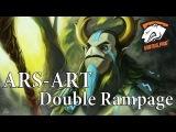 Virtus.pro ARS-ART Double Rampage vs Team Coast.The International 2014 Europe