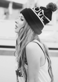 Pretty tumblr girls with beanie