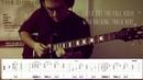 Improvised Mateus Asato style guitar solo    TAB    SAIAN