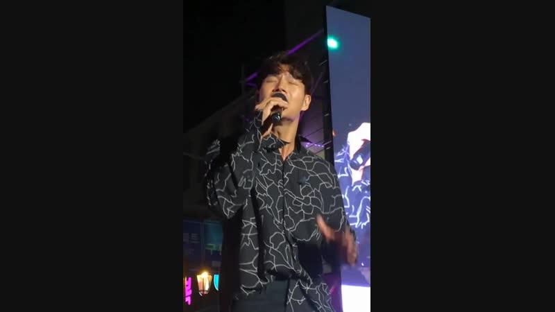 Ким Джон Кук - One Man. Концерт Romantic Party в Пхохане.(13.10.2018)