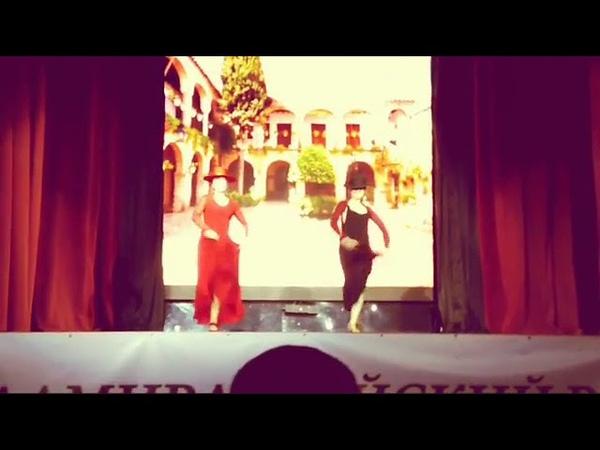 Garrotin con sombrero, студия фламенко LLAMADA