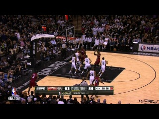 Top 5 Plays of the Night: Heat at Spurs Finals Game 3!