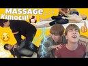 KPOP IDOLS Funny Massage Time (BTS Exo Got7 Twice Blackpink Seventeen SJ Vixx Shinee BAP etc