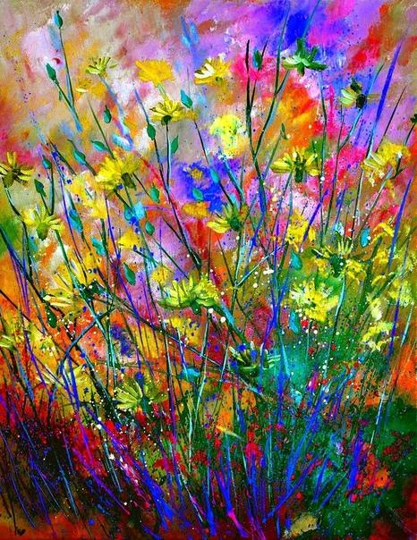 Пол Ледент - бельгийский  художник, который увлекся изобразительным искусством ближе к 40 годам