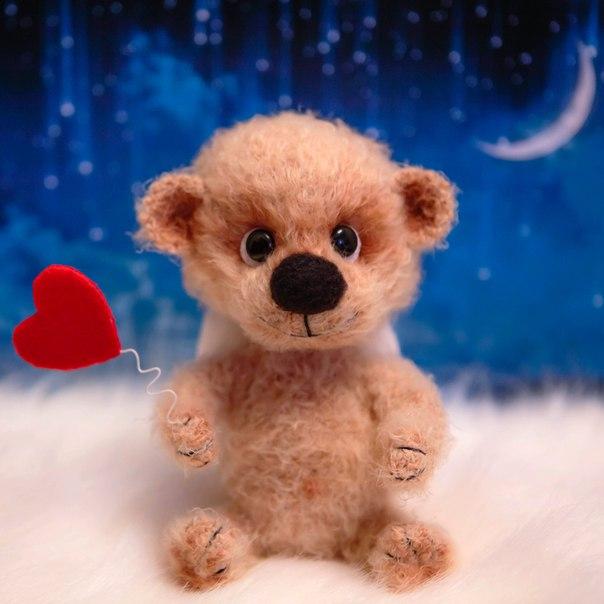 Милый мишка, любовный ангел-хранитель (8 фото)