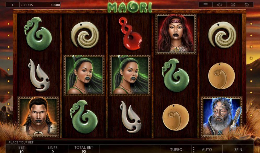 Вулкан: обзор игрового автомата Maori от Endorphina