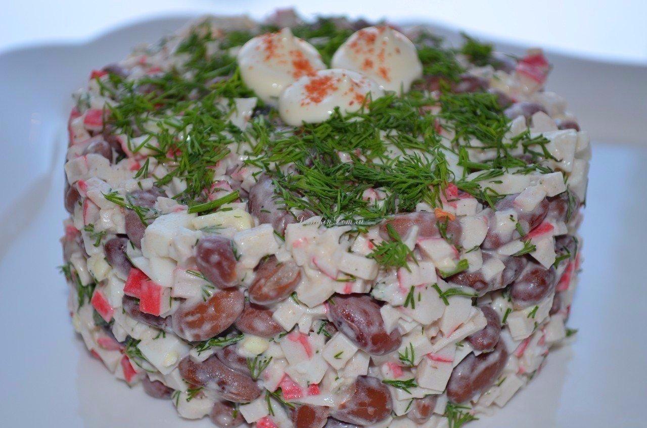 Вкусные рецепты салатов с красным луком