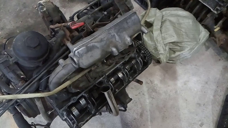 Mercedes vito w638 Заклинило шестерню ТНВД ОМ601 2.3L (часть 1)