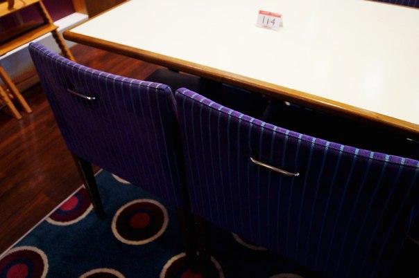 Ручки в стульях