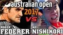 ♦ AO Classic - Serie 6 - ESPN HD 60fps ♦ Federer v. Nishikori - Australian Open 2017 R4 Highlights