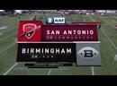 AAF 2019 / Week 04 / San Antonio Commanders - Birmingham Iron / 1H / EN