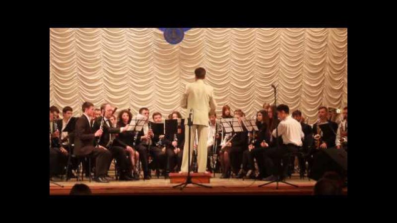 Духовий оркестр ХМУ ім. В.І.Заремби Повернення в Ітаку