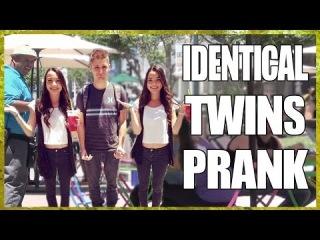 Identical Twins Prank! ft. MerrellTwins