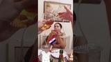 Беременная Нюша с сестрой смотрят финал Чемпионата Мира по футболу 2018 (InstaStories, 15.07.18)