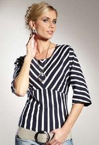 Cамые Красивые Блузки И Платья В Полоску Фото