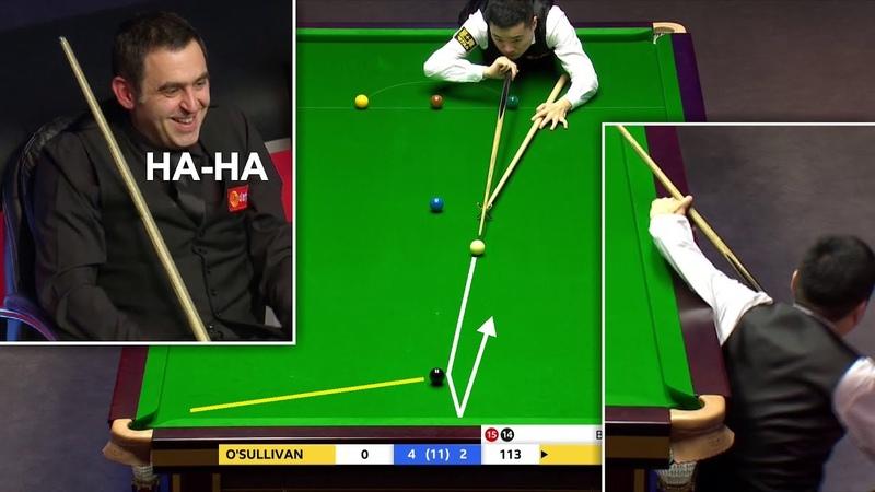 Funny Best 147 Attempt Ever ?! O'Sullivan v Ding
