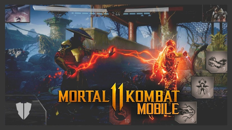 MORTAL KOMBAT 11 MOBILE - ПЕРВЫЙ ВЗГЛЯД