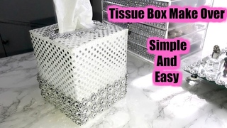💖💖Tissue Box Make Over * Simple And Easy 💖💖