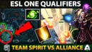TSpirit vs Alliance MATCH OF THE DAY Refresher Cataclysm Combo Enough To Defend Megacreeps