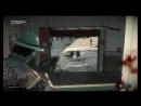 борьба с зомби с полицейской дубинкой и щитом